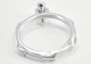 Locknut, Bonding, Steel, Size 1 1/4 Inch-0