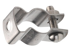 Hanger, Conduit, Steel, Bolt and Nut, Trade Size 8-0