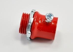 "1/2"" Fire Alarm EMT connector, steel.-0"