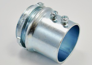 Connector, Set Screw, Steel, Size 1 1/2 Inch-0