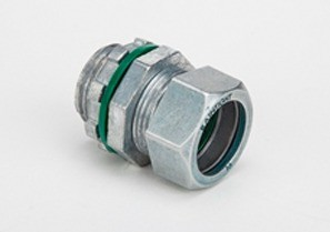 "1/2"" Raintight Compression Connector - Made in the U.S.-0"