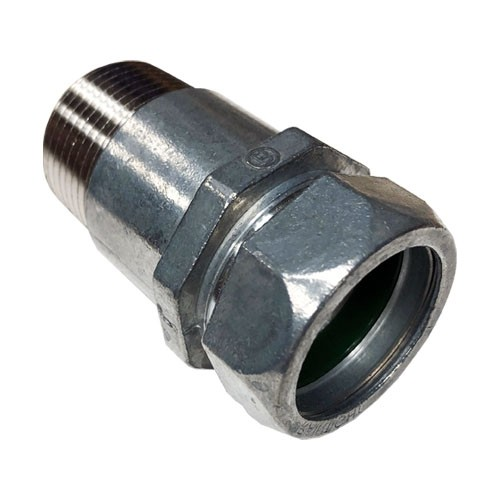 Mighty-Merge® Raintight NPT EMT to Threaded Entry Connector-7