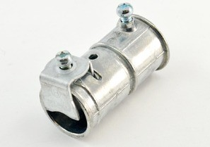 Mighty-Merge® Transition Fittings. EMT to 10/4 - 6/4 AC/MC/FMC Coupling-0