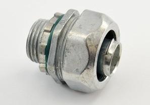 Connector, Liquid Tight, Zinc Die Cast, Size 1/2 Inch-0