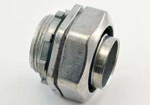 Connector, Liquid Tight, Zinc Die Cast, Size 2 Inch-0
