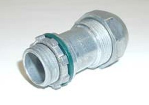 """Mighty-Seal® Jacketed MC Cable Connector 3/8"""" PVC MC/TECK CABLE CONNECTOR-0"""