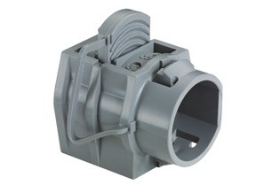 Connector, Snap-In, PVC, Nylon, Size K.O. 3/4 Inch.  8/3  -  6/3  or Two 12/3  -  8/3-0