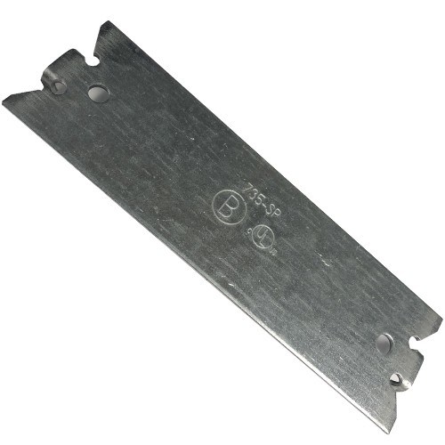 "Plate, Safety, Steel, 5""-0"