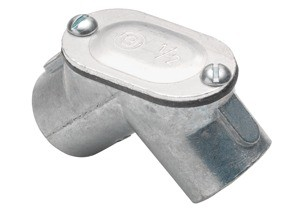 Pull Elbow, Rigid to Rigid, Zinc Die Cast, Size 1/2 Inch-0