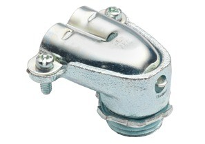 Connector, Duplex, 90 Degrees, Malleable Iron-0