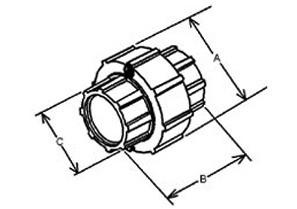 Mighty-Align Three Piece Conduit Coupling-1