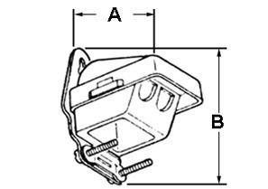 Entrance Cap, Entrance Cable, PVC, Oval Service Entrance Size 3-#1/0, 2/0-1