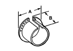 Liner, Lock - A, Polypropylene, Size 3/4 Inch-1