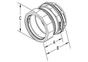 "3.5"" Raintight Insulated Connector-1"
