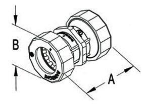 Mighty-Seal® Push-EMT® Raintight Couplings-1