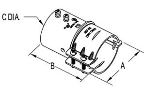 EMT/Rigid to FMC Transition Coupling-1