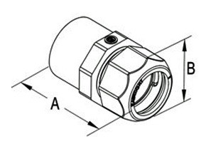 Mighty-Merge Raintight EMT to Rigid Transition Coupling-1