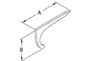 Strap, Nail, EMT, Steel, Size 1/2 Inch-1