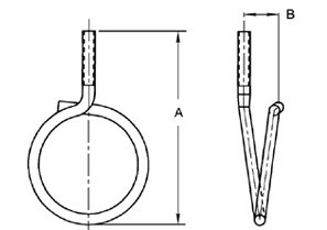 """2"""" Bridle Ring-1"""