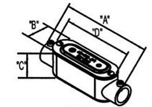 Combination Type C Conduit Body-1