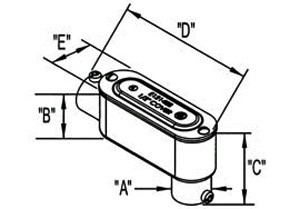 "1/2"" Combination Type LB Conduit Body-1"