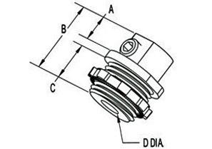 "3/4"" Mighty-Bond® Brass Equipment Bonding Connector/Coupling-1"