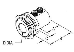 "1"" Mighty-Bond® Brass Equipment Bonding Connector/Coupling-1"