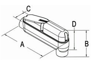 Conduit Body, Mogul, Aluminum, Size 3-1/2 Inch-1