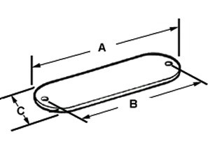 Gasket, Conduit Body, Cellulose, Size 3/4 Inch-1