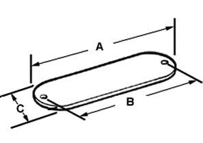 Gasket, Conduit Body, Neoprene, Size 1/2 Inch-1