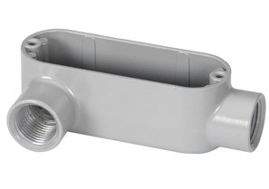Rigid and IMC Conduit Body, Type LL, Aluminum, Size 3 Inch-0