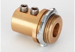 "1"" Mighty-Bond® Brass Equipment Bonding Connector/Coupling-0"
