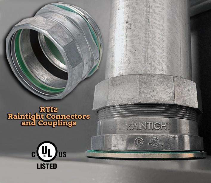 "4"" Raintight Insulated Connector-3"