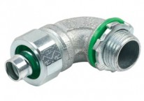 Recommended products - Connector, Liquid Tight, 90°, US Steel, Size 3/8 Inch, Insulated Throat