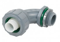 Recommended products - Connector, Liquid Tight, 90 Degree Non-Metallic, Size 1/2 Inch