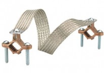 Recommended products - Copper clamps. Braid equivalent to 4 GA