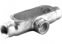 Recommended products - Rigid and IMC Conduit Body, Type T, Malleable Iron, Size 3/4 Inch