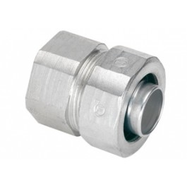 Transition Coupling, Rigid/IMC (1/2 Inch) Conduit to Liquidtight FMC (3/8  Inch), NPT Threads