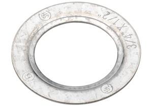 Washer, Reducing, Galvanized Steel, Size 3/4 Inch - 1/2 Inch
