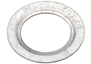 Washer, Reducing, Galvanized Steel, Size 1 1/4 Inch - 3/4 Inch