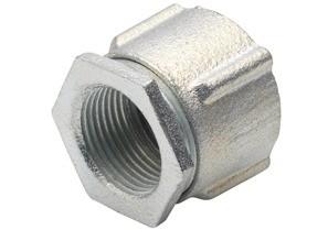 Coupling, Conduit, Three-Piece, Aluminum, Size 2 Inch