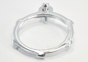 Locknut, Bonding, Steel, Size 1 1/2 Inch