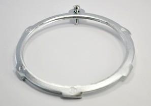 Locknut, Bonding, Steel, Size 3 1/2 Inch