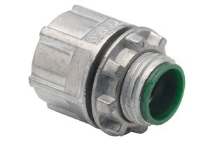 Polyolefin-Coated Zinc Die Cast Threaded Hubs, 1/2""