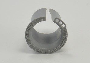 Liner, Lock - A, Polypropylene, Size 1/2 Inch