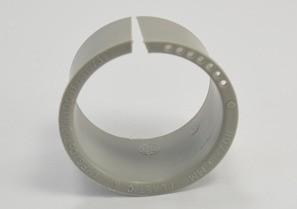 Liner, Lock - A, Polypropylene, Size 1 1/2 Inch