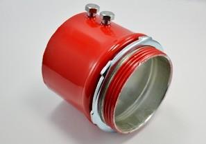 "3"" Fire Alarm EMT Connector, Steel"