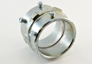 Coupling, Set Screw, Made in the USA Steel, Size 2 Inch.