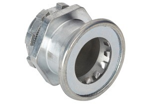 """Mighty-B® PUSH-EMT® Fittings - 1/2"""" Mighty-Bite® Connector, Insulated."""