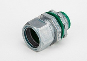 """1/2"""" Raintight Compression Connector, Insulated"""